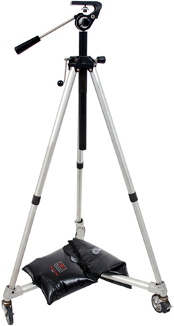 SDB40 on camera tripod