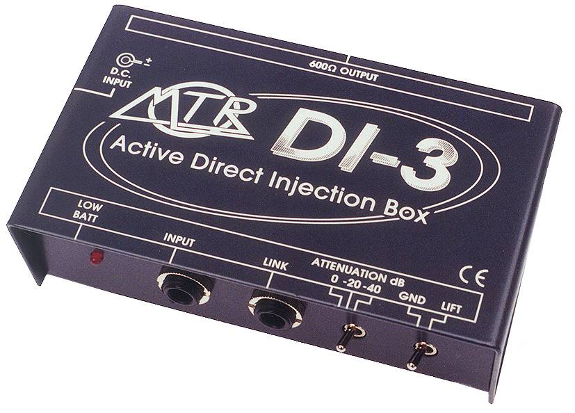 MTR DI-3 Active Direct Injection Box