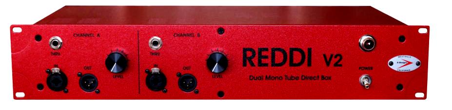 A-Designs REDDI V2 2 chan rackmount