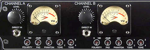 A-Designs MP-2A detail of channels