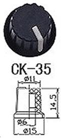 Control Knob dimensions