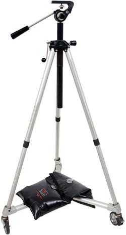 SDB40 on camera tripod
