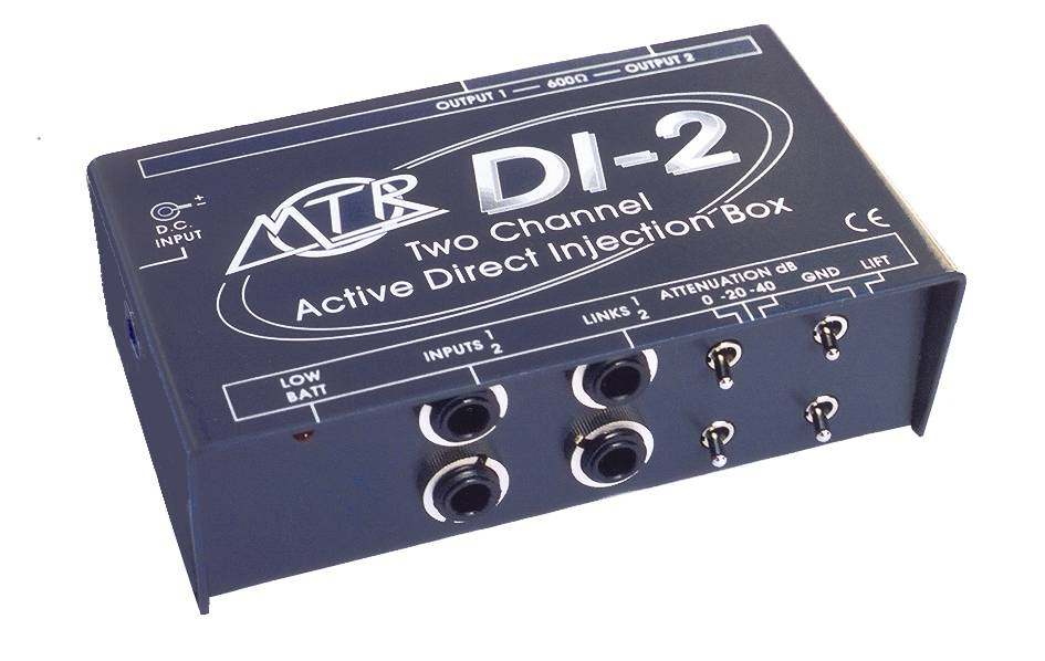 MTR DI-2 Two Channel Active D.I. Box